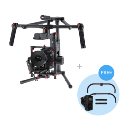 DJI Ronin MX + grip + thumb controler