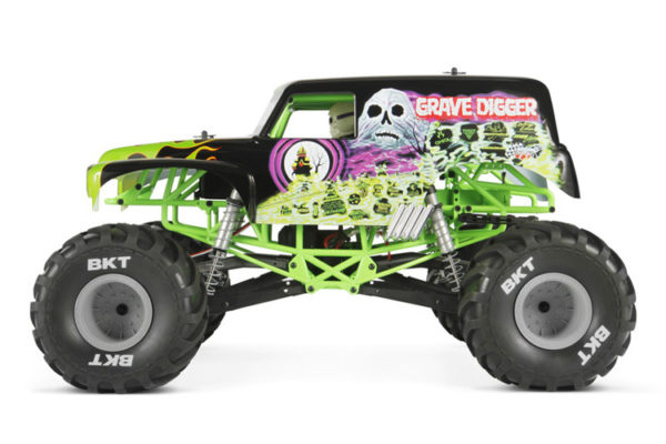 Axial SMT10 Grave Digger Monster Truck 4WD 110 RTR2