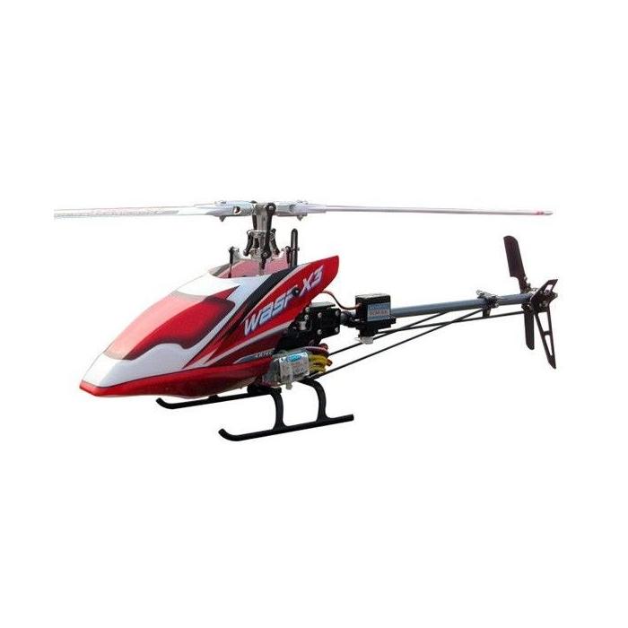 WASP X3V 2.4GHz 6CH Flybarless RTF (bezszczotkowy, loty 3D)