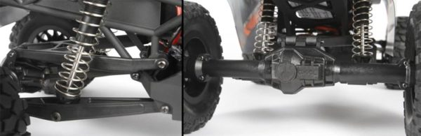 Axial YETI JR Rock Racer 4WD 118 RTR4